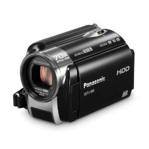 Panasonic SDR H90 SD & HDD Camcorder (Black) Camera