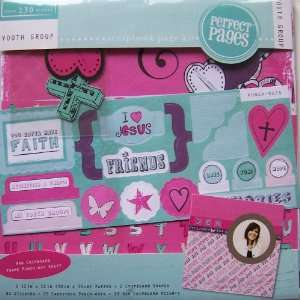 Perfect Pages Youth Group Scrapbook Page Kit Arts, Crafts & Sewing