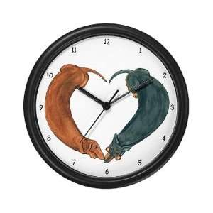 Dachshunds for life Funny Wall Clock by CafePress