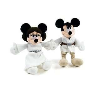Minnie Mouse as Princess Leia 10 Plush Doll Set   New with Tags Toys