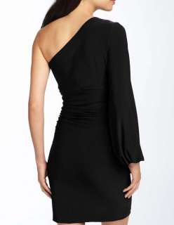 NWT MAGGY LONDON One Shoulder Cocktail Dress 10