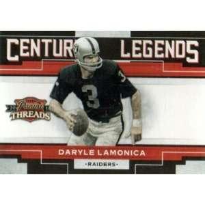 Panini Threads Century Legends #10 Daryle Lamonica