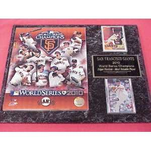 com 2010 San Francisco Giants World Series Champions 2 Card Collector