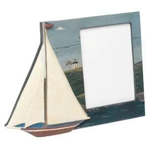Warren Kimble Design, Sailboat on Coastal Breeze Scene