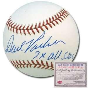 David Parker Pittsburgh Pirates Hand Signed Rawlings MLB Baseball with