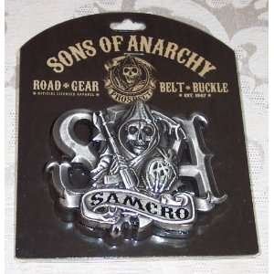 SONS OF ANARCHY SOA Samcro Reaper Metal BELT BUCKLE: Everything Else