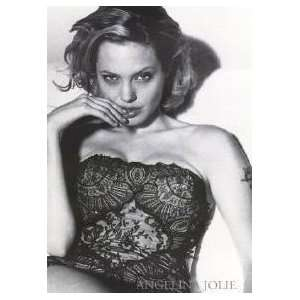 Angelina Jolie Lace Poster Home & Kitchen