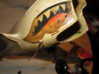 COX P 40 WAR HAWK FLYING TIGER AIRPLANE THIMBLE DROME TETHER CONTROL
