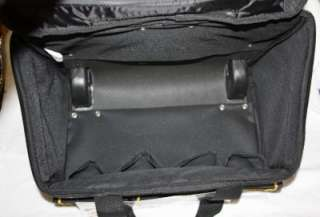 AWP Lg Rolling Cargo Tool Box Bag Case Chest Wheels NEW