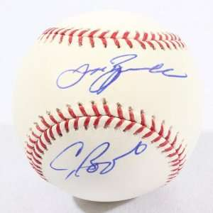 Signed Jeff Bagwell & Craig Biggio Baseball   GAI