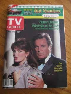 Feb 1988 TV GUIDE Magazine Jaclyn Smith Robert Wagner