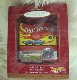 1968 Deora Hot Wheels Hallmark Keepsake Ornament  