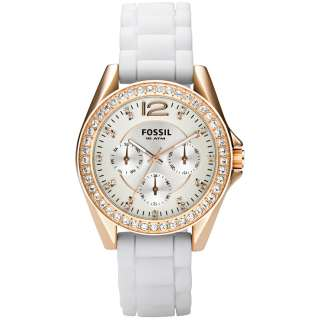 Fossil Riley Rose Gold Tone Womens Watch ES2810