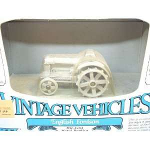 Vehicles 1/43 Scale English Fordson (Grey) Die Cast Metal Replica