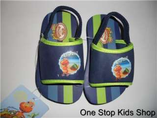 DINOSAUR TRAIN Toddler Boys 5 6 9 10 Shoes SANDALS