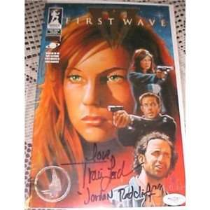 Traci Lords Signed FIRST WAVE #1 COMIC JSA Inscription