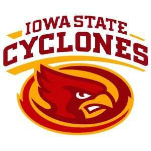 Iowa State Cyclones Moveable 8x8 Decal