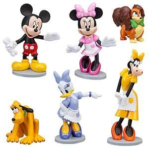 Disney MICKEY MOUSE CLUBHOUSE MINNIE FIGURINE PLAY SET