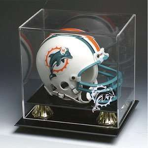 Miami Dolphins NFL Full Size Football Helmet Display Case