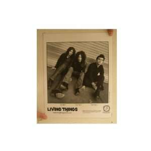 Living Things Press Kit Photo