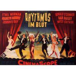 Donald OConnor)(Marilyn Monroe)(Dan Dailey)(Johnny Ray)(Mitzi Gaynor