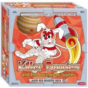 Killer Bunnies Jupiter Laser Red Booster Games  Toys