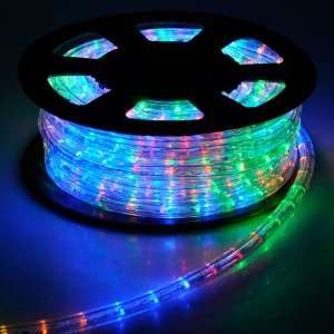 LED Rope Light 50ft Multi Color w/ Connector Patio, Lawn & Garden