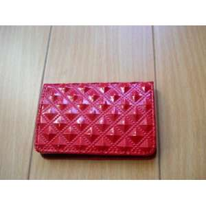 Business Card/Credit Card Case Red Color