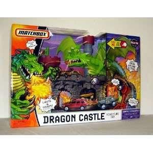 DRAGONS CASTLE ADVENTURE MATCHBOX TOY PLAYSET SET NEW