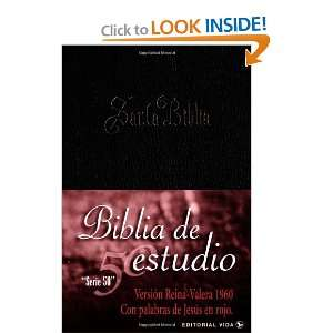 Biblia de Estudio Serie 50 Dura Negro Indice