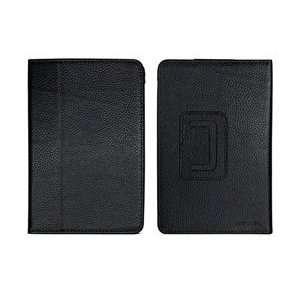 Bluecell Black Genunie Leather Case/Cover with Stand for Kindle Fire E