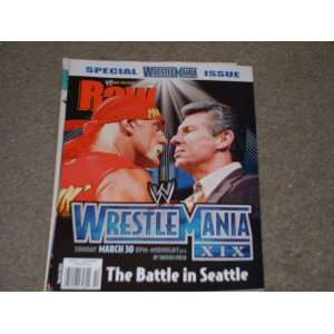 WWE Raw Magazine March 2003 Issue: World Wrestling Entertainment