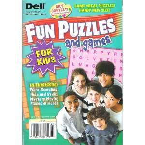Dell Fun Puzzles and Games Magazine (February 2012
