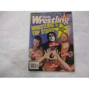 Inside Wrestling Magazine Wrestlings Top Stars February