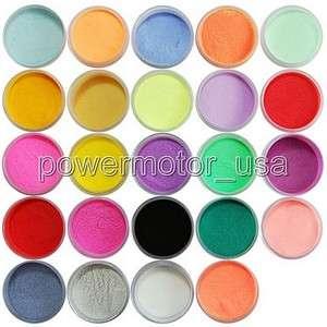 24 Color Acrylic Powder New Dust Nail Art Decoration PWN169