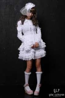 PUNK NANA Kera GOTHIC LOLITA ALICE Princess DRESS+Headdress 81061