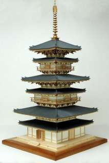 Yakushiji East Pagoda Wood Japanese Model Kit Japan