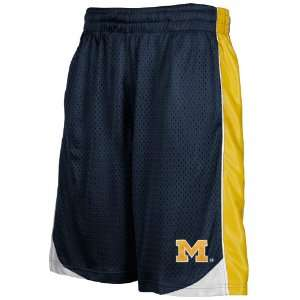 Michigan Wolverines Youth Navy Blue Vector Workout Shorts