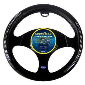 Goodyear GY SWC317 Black Steering Wheel Cover Automotive