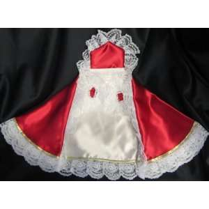 Dress for 16 Infant Jesus Statue   Red Kitchen & Dining