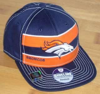 Denver Broncos 2011 NFL football player sideline hat cap nwt new S/M