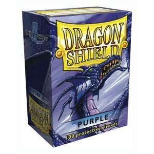 Dragon Shield 100 Sleeves   Purple Toys & Games