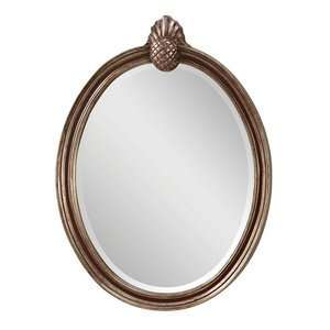 Feiss MR1139MHG/ASL Mahogany /Antique Silver Mirror Louise