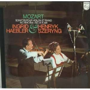 Mozart Sonatas for Piano and Violin K. 454, K. 481 (Vinyl) Mozart