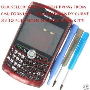 Telus Burgandy RIM BlackBerry 8330 Curve OEM Full