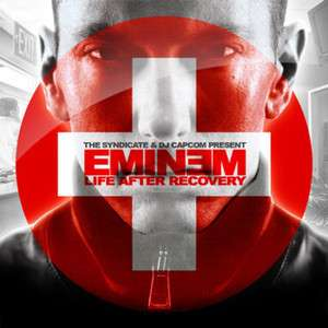 Eminem Life After Recovery OFFICIAL MIxtape Album CD