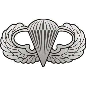 United States Military Jump Wings Badge Sticker: Arts, Crafts & Sewing