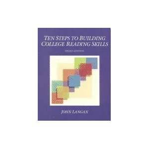 Ten Steps to Building College Reading Skills 3rd EDITION