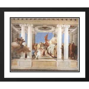 Tiepolo, Giovanni Battista 34x28 Framed and Double Matted