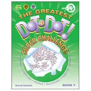 Greatest Dot to Dot Super Challenge Book 7 Toys & Games